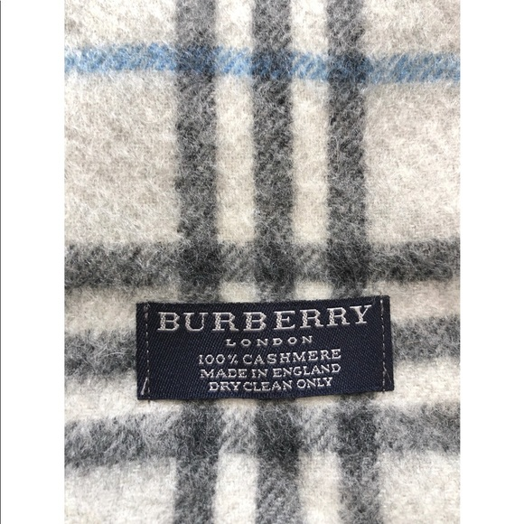 Burberry London Cashmere Scarf